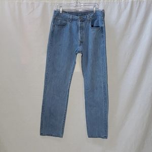 Levi's 501 Straight Fit Jeans